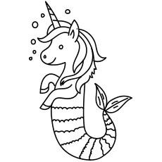 unicorn color pages # 19