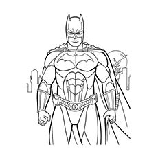 coloring pages of superheroes # 1