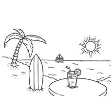 summer coloring pages printable # 58
