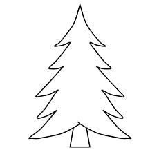 coloring pages christmas tree # 0