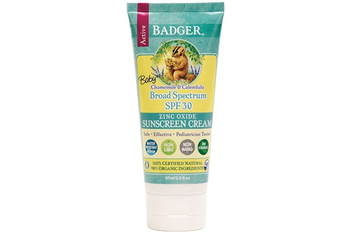 Badger Baby Sunscreen Cream