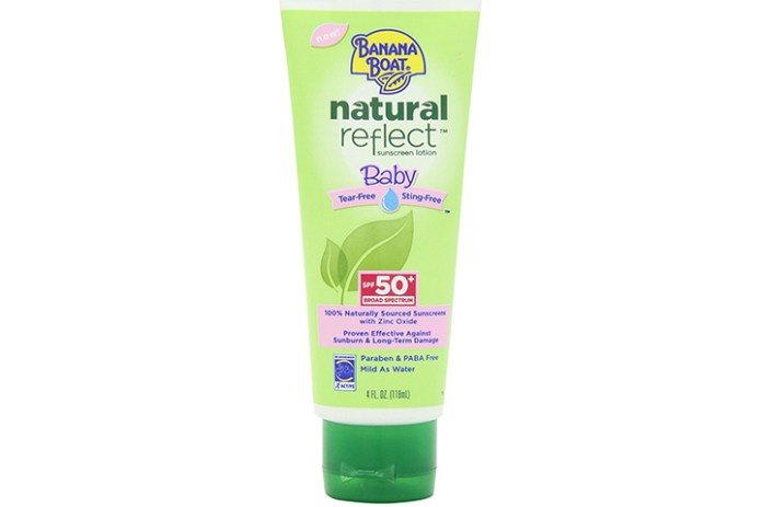Banana Boat Natural Reflect Baby Sunscreen