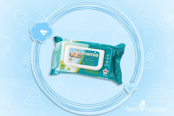 Mamia Sensitive Baby Wipes