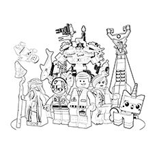 legos coloring pages # 12