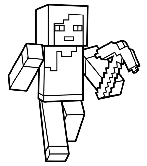 minecraft printables coloring pages # 11