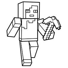 minecraft printable coloring pages # 9