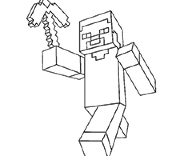 Free Printable Minecraft Coloring Pages For Toddlers