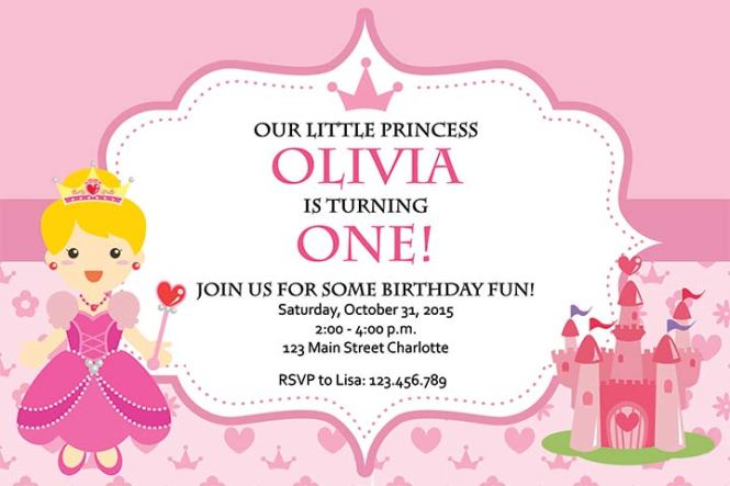 24 Best 1st Birthday Invitation Wordings