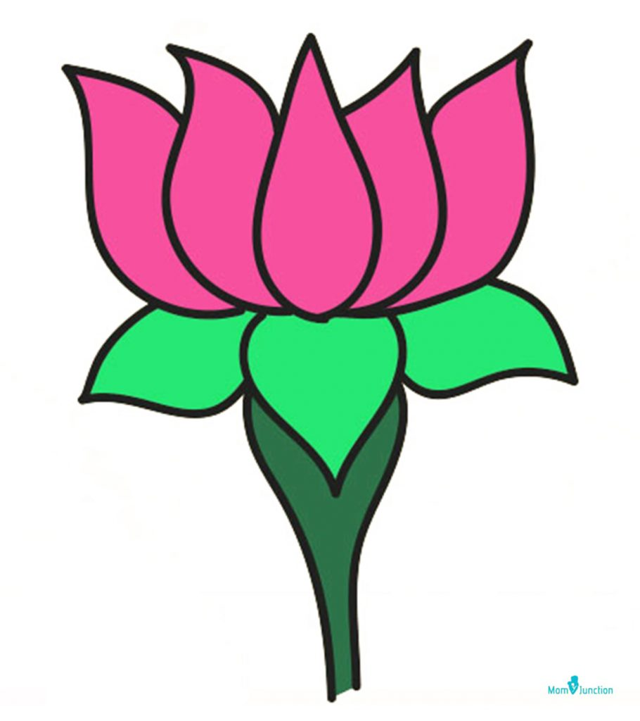 How To Draw Lotus Easy Step By Step Guide