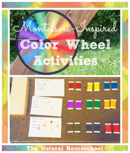 Color Wheel Activities
