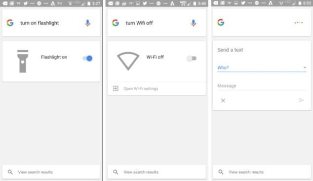 Google para Android nuevos comandos de voz