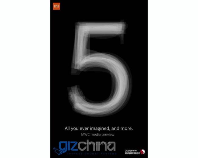 Xiaomi mi5 MWC