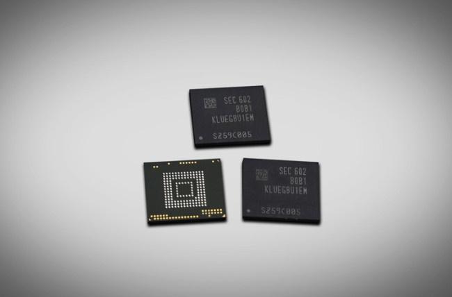 Memoria interna UFS 2.0 para el Samsung Galaxy Note 6