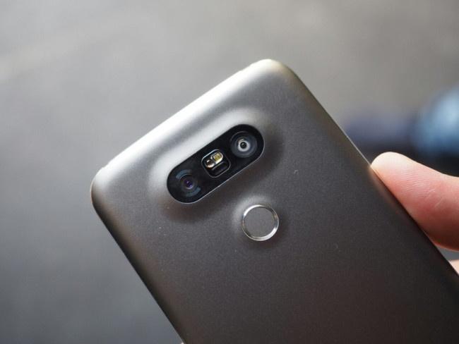 Doble cámara del LG G5