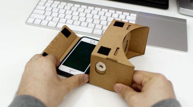 Google Cardboard para un iPhone