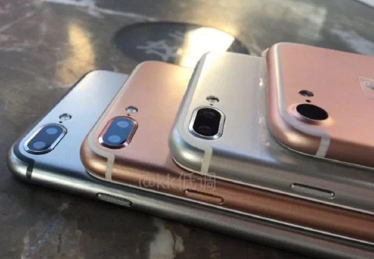 Cámara trasera de los iPhone 7, iPhone 7 Plus y iPhone 7 Pro