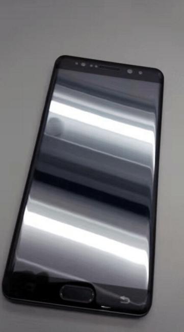 Samsung Galaxy Note 7 color negro