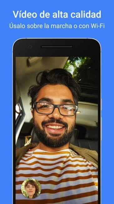 aplicacion de videollamadas Google Duo