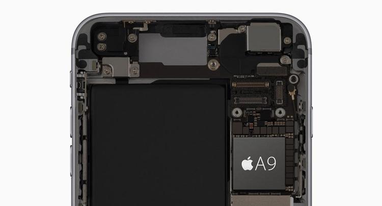 Procesador del iPhone 6s Plus