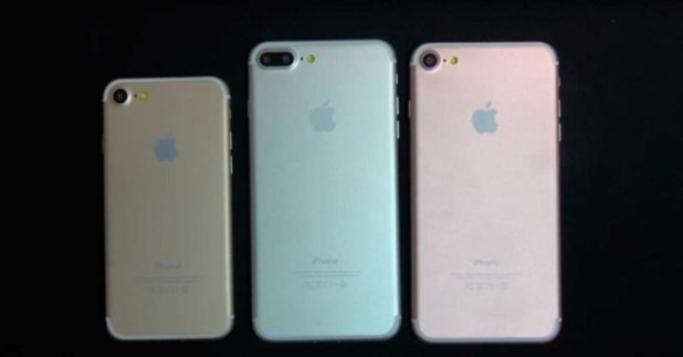 tres variantes iphone 7