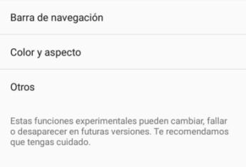 Funciones secretas Android 7.0 Nougat