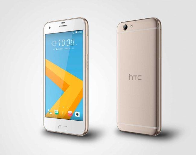 HTC One A9s dorado