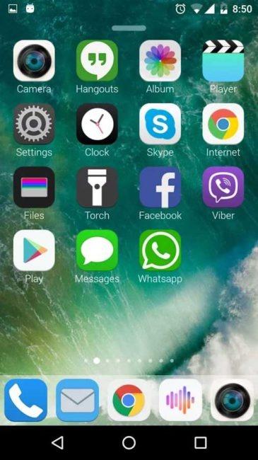 iOS 10 en Android