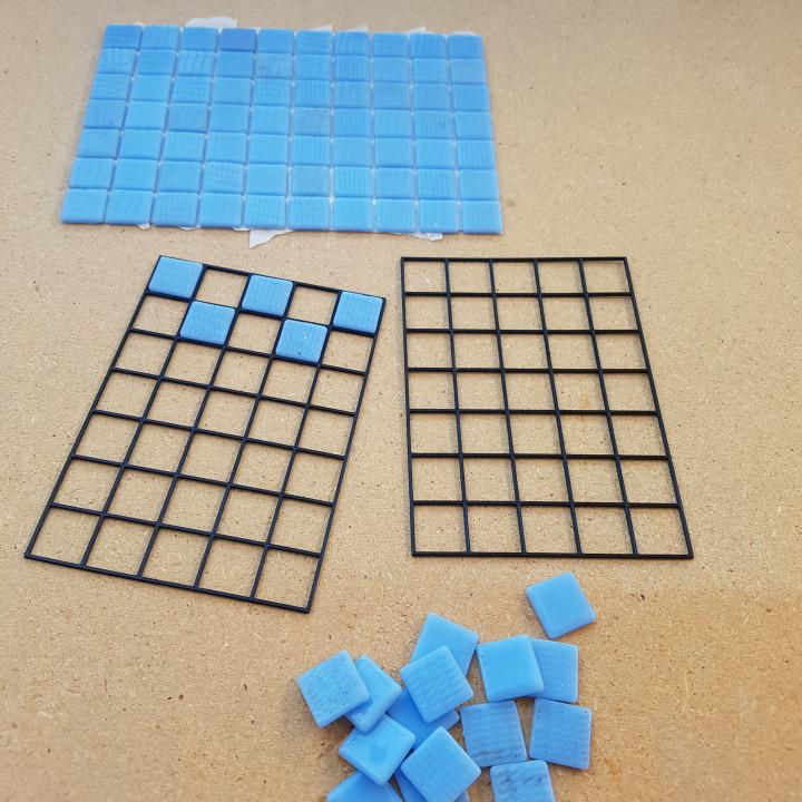 3d printable swimming pool tile repair