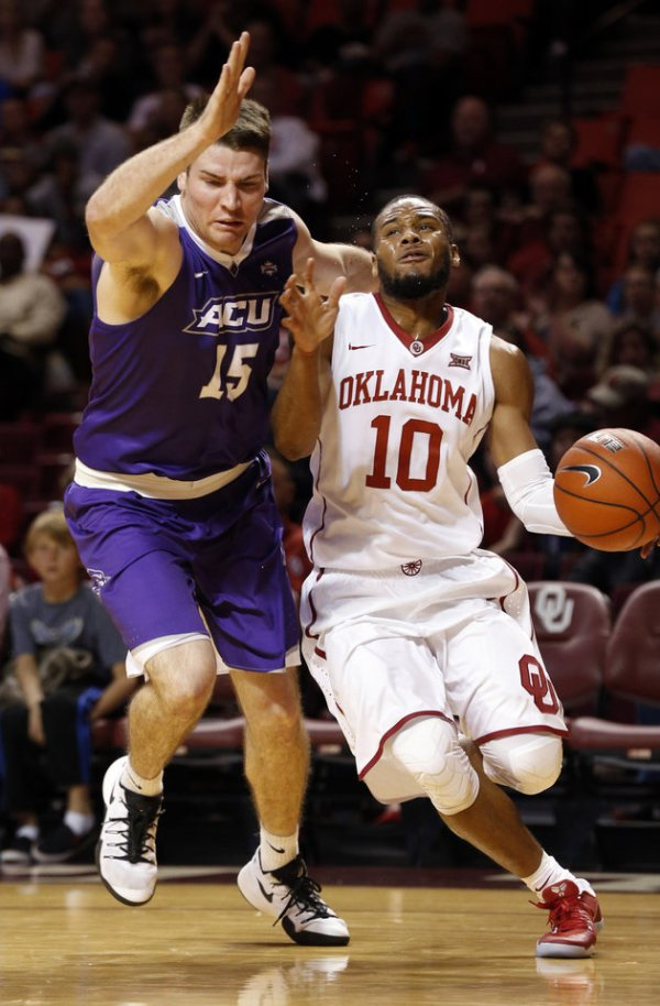 Sooner men defeat Abilene Christian 72-64. - Photo Gallery