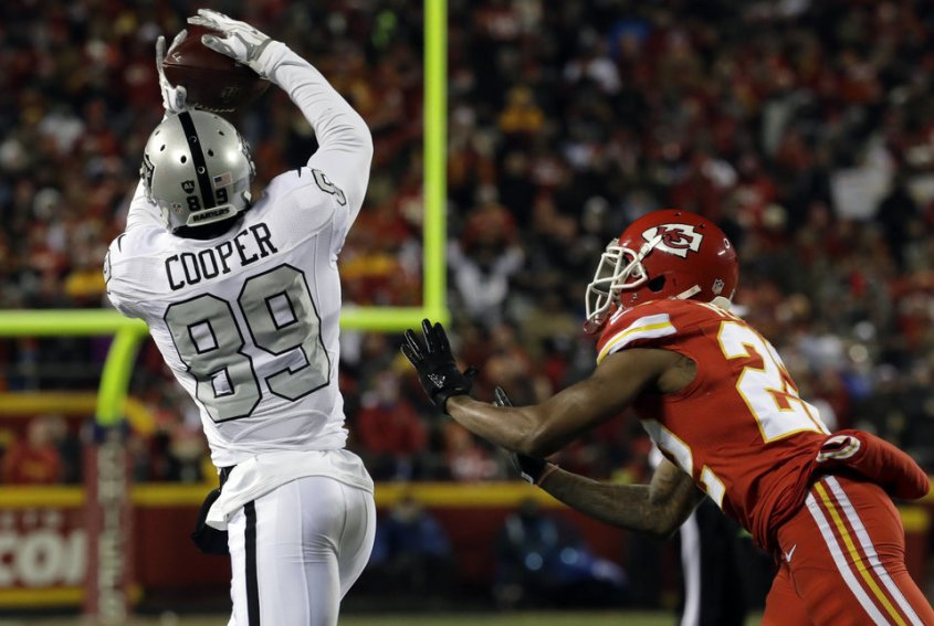 Image result for amari cooper touchdown vs chiefs