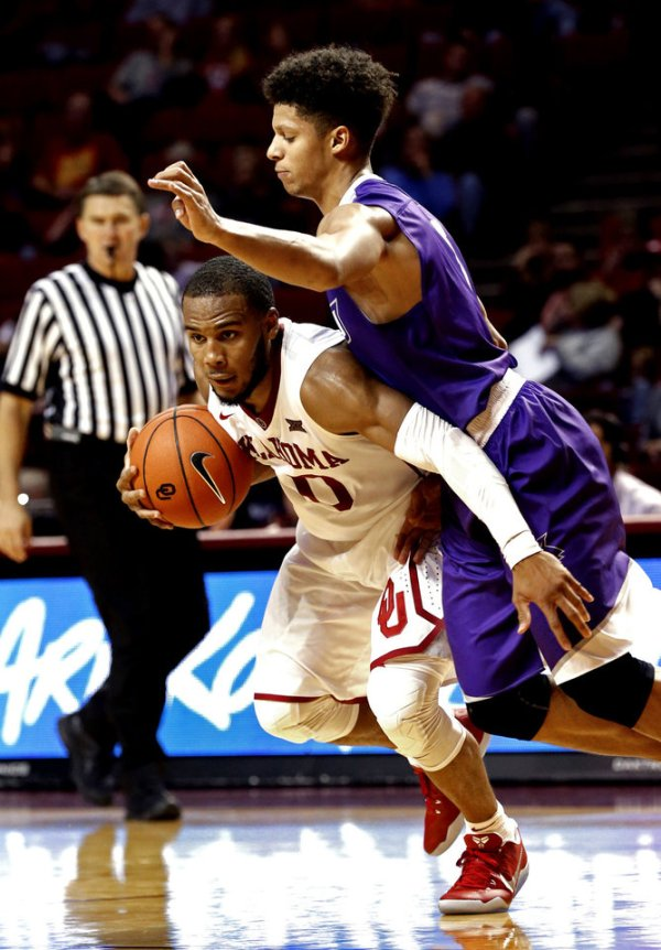 Sooner men defeat Abilene Christian 72-64.
