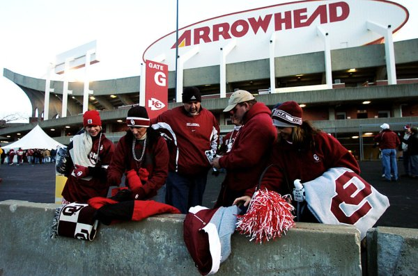 Oklahoma football: 2003 Big 12 title game loss to Kansas ...