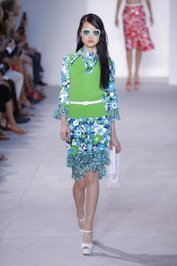 michael kors greenery