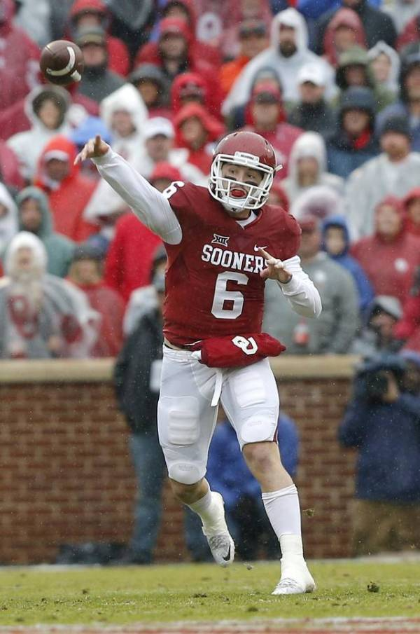 OU football: Sooners' quarterback Baker Mayfield coming ...