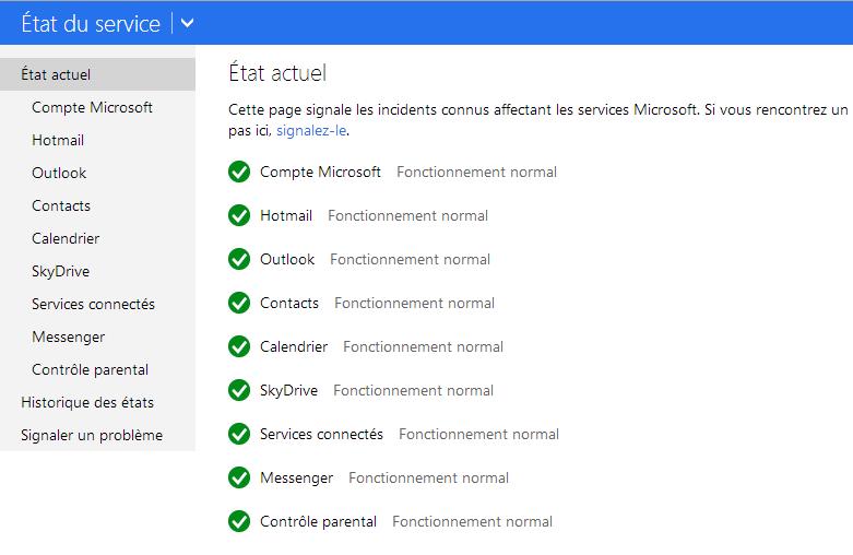 Outlook.com : Un Problème De Firmware Provoque Une Panne