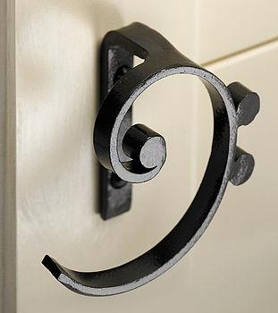 Cupboard handle bass clef