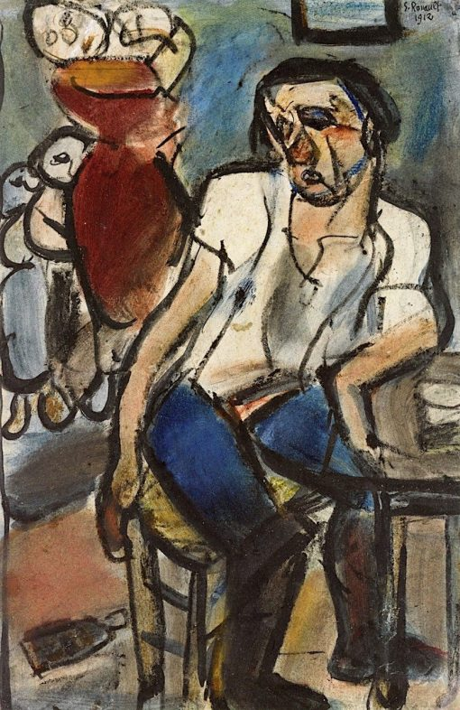 The Poor Family III (also known as Interior or Refugees) | Georges Rouault | Oil Painting