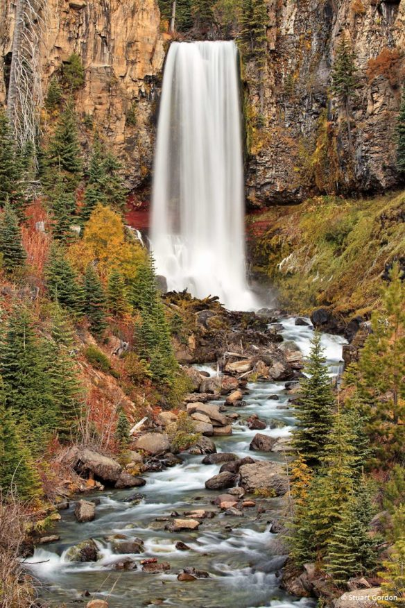 """Today's Photo Of The Day is """"Tumalo Falls"""" by Stuart Gordon. Location: Deschutes National Forest, Oregon."""