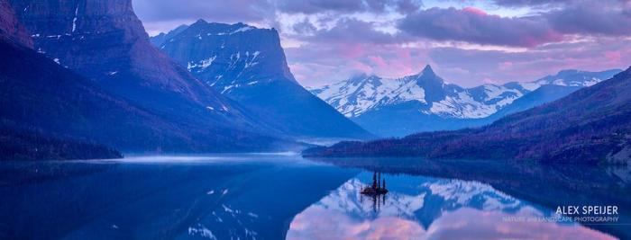 """Today's Photo Of The Day is """"Wild Goose Reflection"""" by Alex Speijer. Location: Glacier National Park, Montana."""