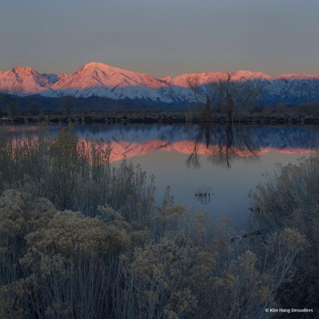 """Today's Photo Of The Day is """"Beginning"""" by Kim Hang Dessoliers. Location: Bishop, California."""