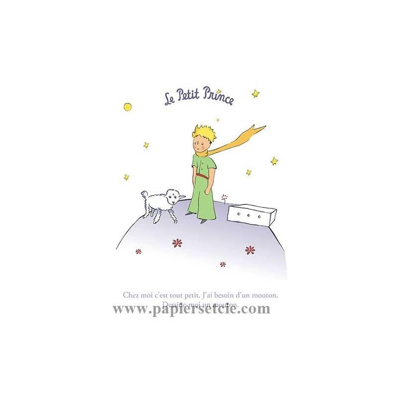 Grande Carte Le Petit Prince Dessine Moi Un Mouton