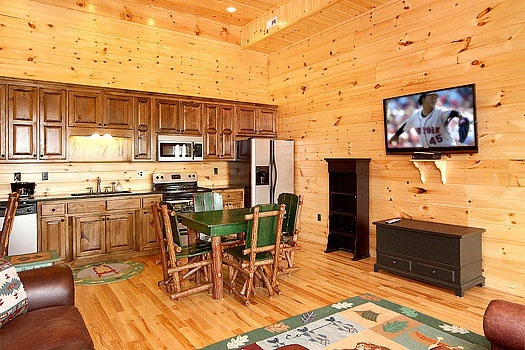 Dont Blink A Pigeon Forge Cabin Rental