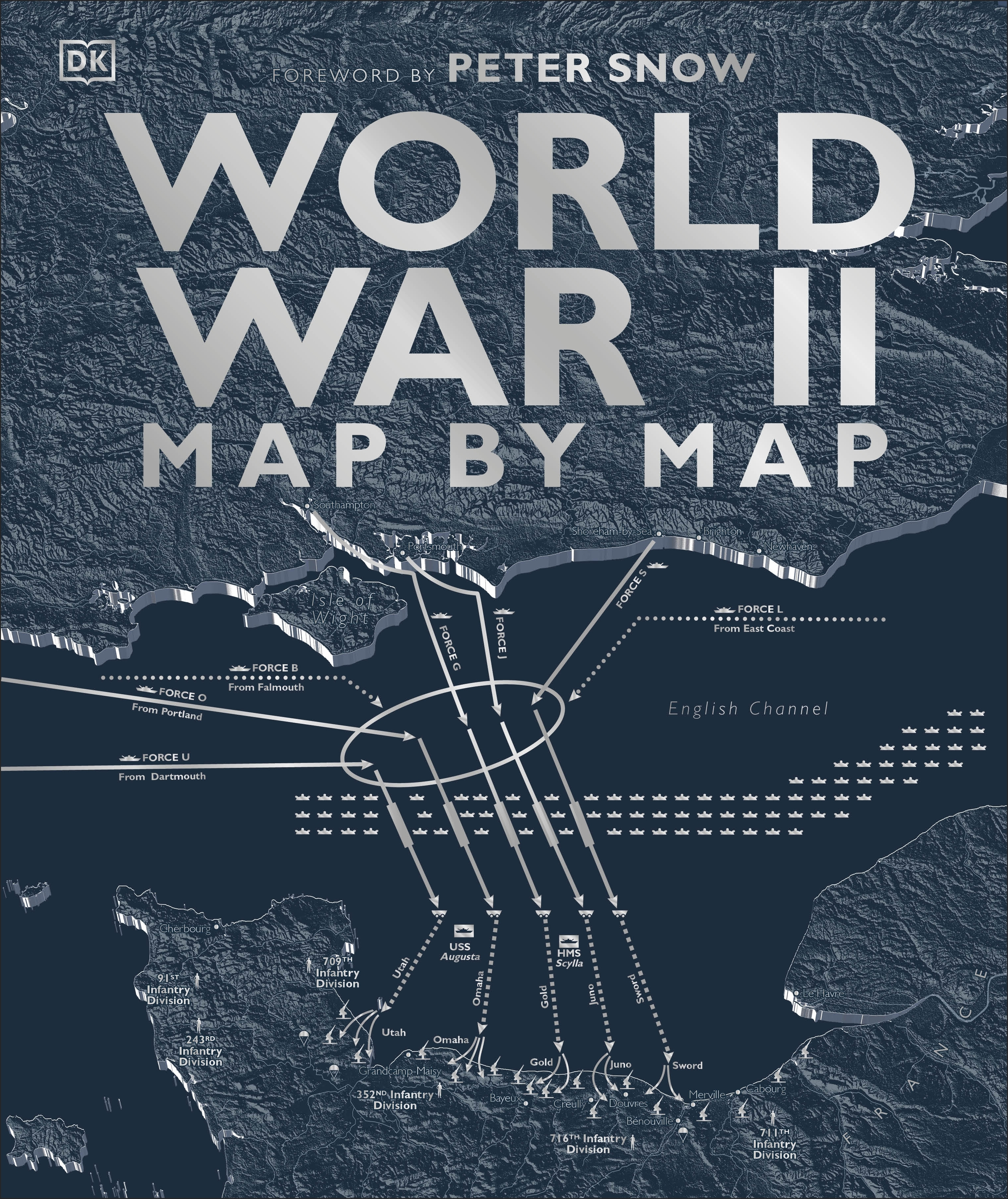World War Ii Map By Map By Dk