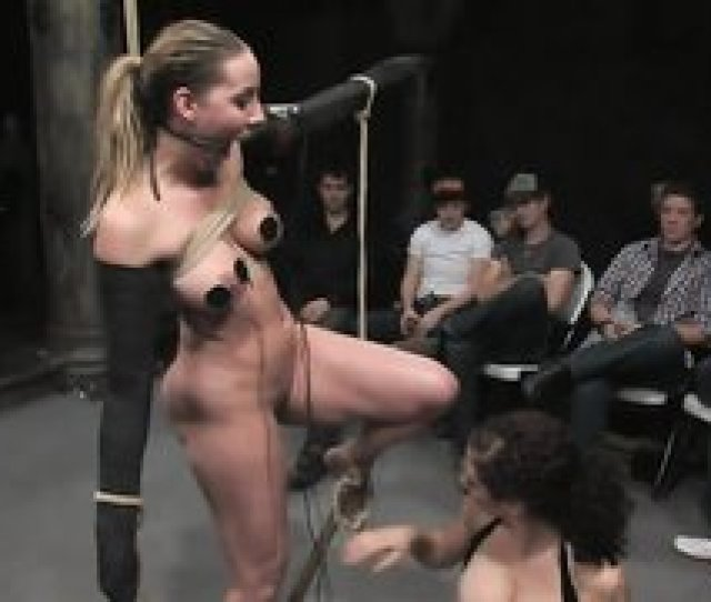 Public Humiliation And Torture For That Fat Bitch