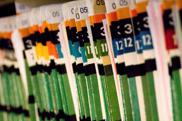 hospital records (rhimage shutterstock)