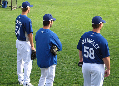 This is the best young righty-lefty combination the Dodgers have raised since Koufax-Drysdale.