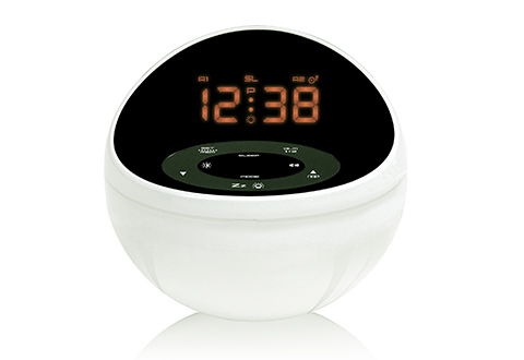 Soothing Sounds Alarm Clock With Color
