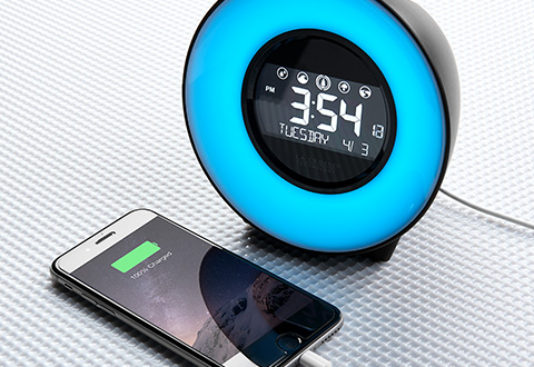 Phone Charging Sound Soothing Alarm