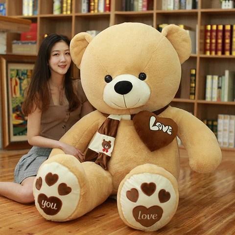 Huge High Quality Giant teddy bear size comparison