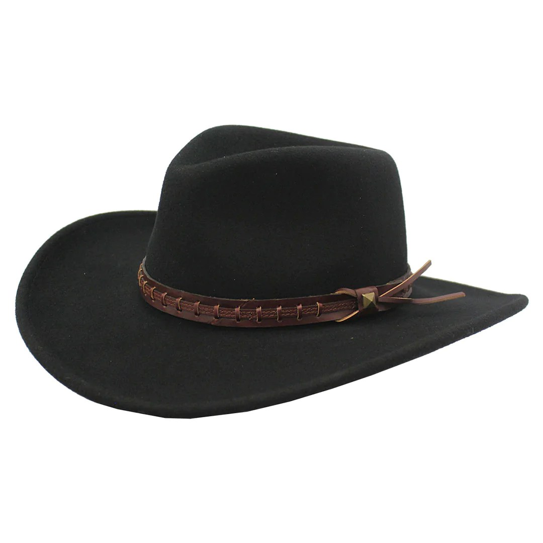 Wind River By Bailey Firehole Crushable Felt Cowboy Hat